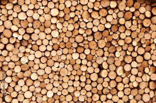Aluminium Meest verkochte foto's Firewood texture