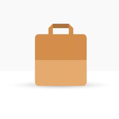 Blank paper bag illustration