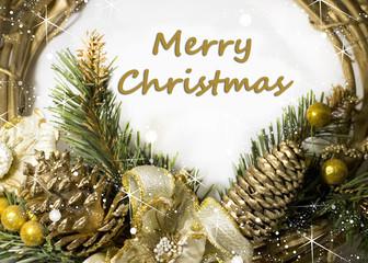Merry Christmas ghirlanda