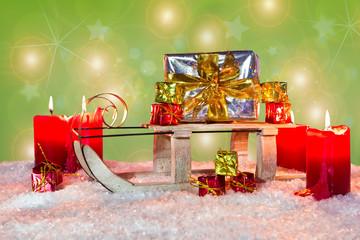 Weihnachtsschlitten, 4. Advent