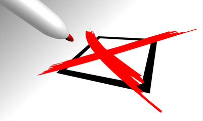 croce, flag, voto