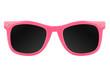 canvas print picture - Women's pink sunglasses