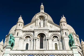 Sacre-Coeur Basilica on Montmartre, Paris