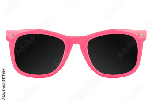 Poster Women's pink sunglasses