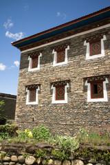 Tibetan building