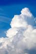 Leinwandbild Motiv blue sky with clouds