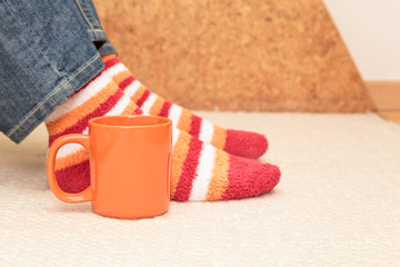 Home comfort with coffee