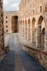 Fortezza del Priamar, architectural detail