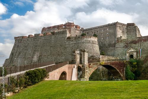 Foto op Plexiglas Vestingwerk Fortezza del Priamar, Savona, Italy