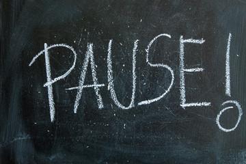 Tablica Pause!
