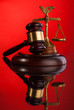 gavel,  and scales of justice
