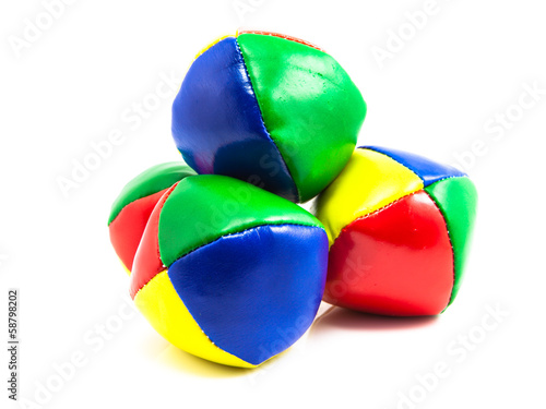 Isolated Set of Juggling Balls