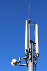 Antennes ' panneau ' d'un relai de téléphonie mobile