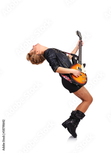 rock star girl