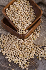 an important part of a healthy food, soy on the table
