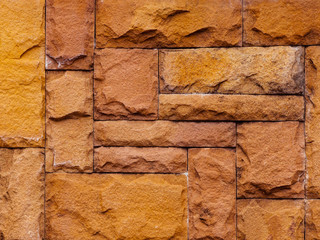 sandstone texture wall for background