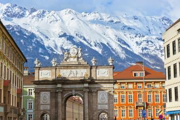 Triumph Arch - Innsbruck Austria