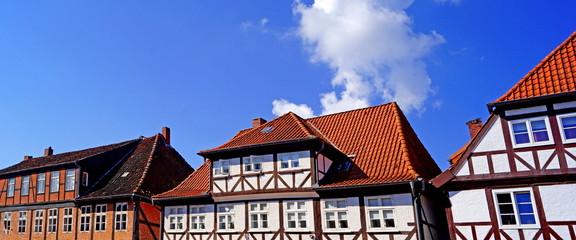 RENDSBURG (Schleswig-Holstein) - Altstadtpanorama
