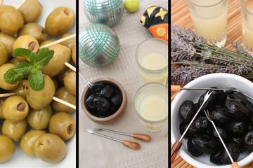 Apéro Provençal aux olives