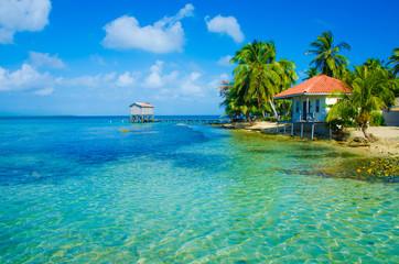 House at beautiful beach