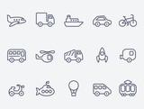 Transport icons - 58806453