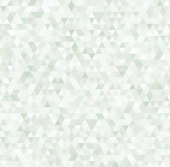 Colorful triangles geometric seamless pattern