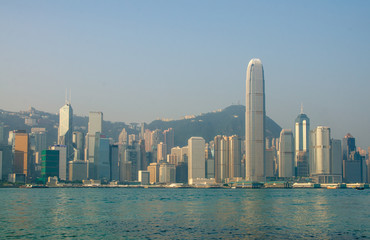 HONG KONG - OCTOBER 22 : Hong Kong Victoria Harbor October 22 20