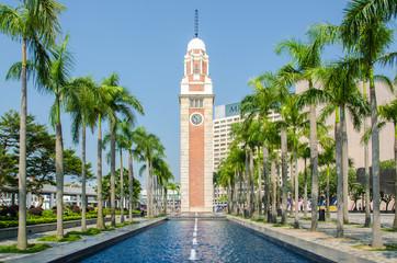 Clock tower at Hong Kong