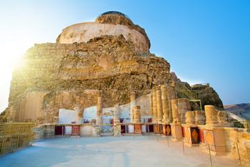 The ruins of the palace of King Herod's Masada