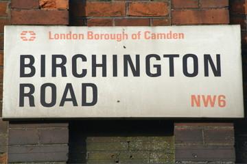 birchington road a famous London Address