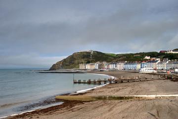 North Beach at Aberystwyth