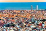 Barcelona, panoramic view.