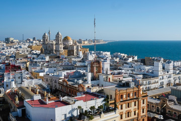 Cadiz from Torre Tavira