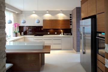 Luxurious modern kitchen