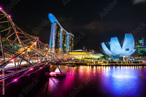 Marina  Bay Sands, Singapore,