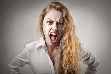 Enraged Girl
