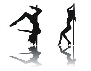 striptease sombra
