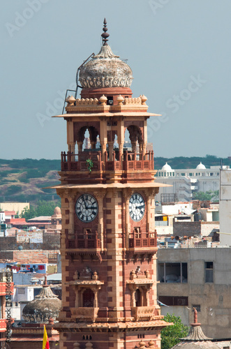 Clock tower in Jodhpur,  India