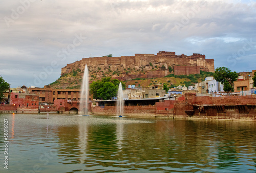 Mehrangarh Fort in Jodhpur,  India