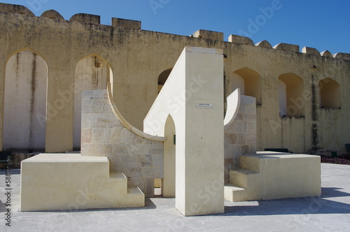 Jantar Mantar astronomical observatory in Japiur, India