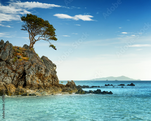 Tropical landscape. Coron island, Philippines