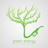 Vector green energy