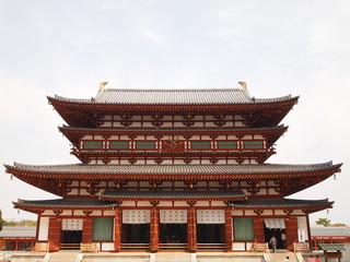 Yakushi-ji Temple in Nara, Japan