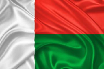 flag of Madagascar