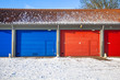 Garage Doors in Snow