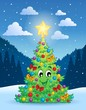 Christmas tree theme 4