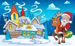Winter scene with Christmas theme 5