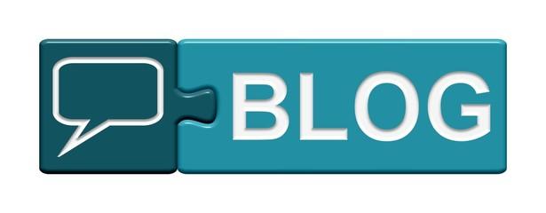 Puzzle-Button blau: Blog