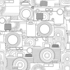 Seamless photography pattern
