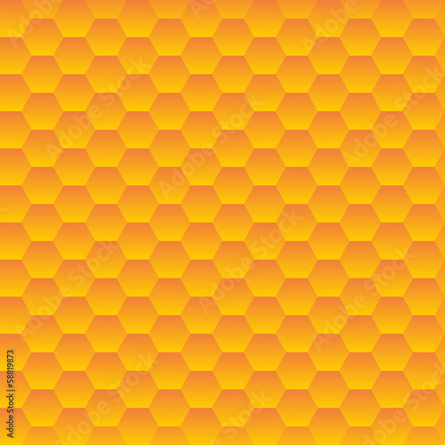 Seamless hexagonal cells vector texture.